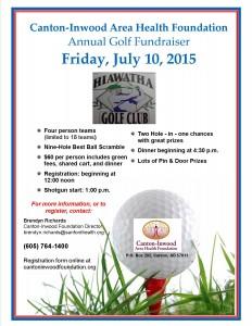 2015 Canton Golf flyer