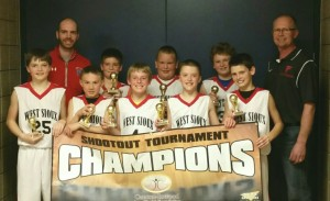 5th grade boys champs West Sioux IA