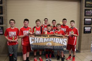 6th Grade Blue Division Champions - Brandon Valley Baskethounds