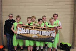5th Grade Gold Division Champions - Sioux Falls Skyhawks